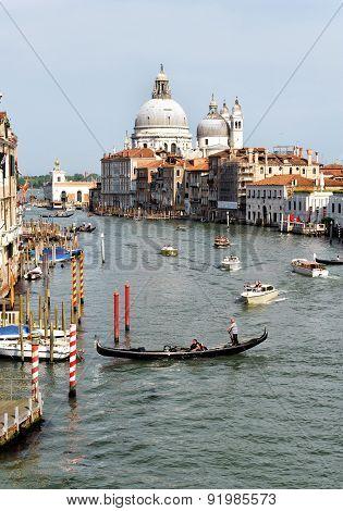 Venetian Canal Grande View