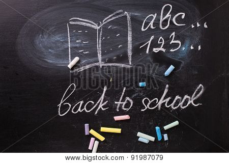 Concept Back To School.