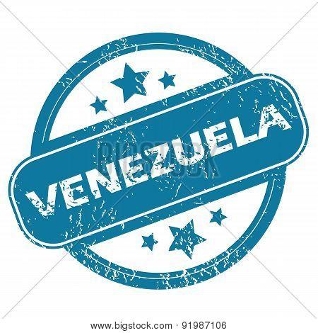 VENEZUELA round stamp