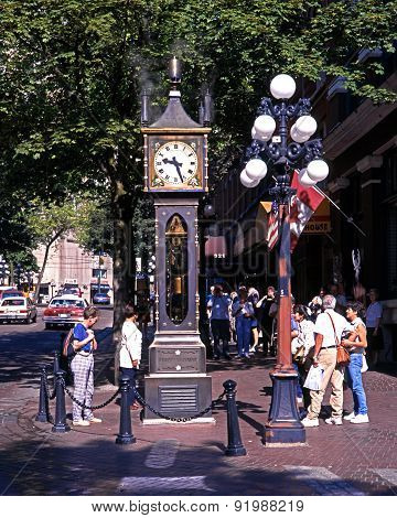 Gas town steam clock, Vancouver.