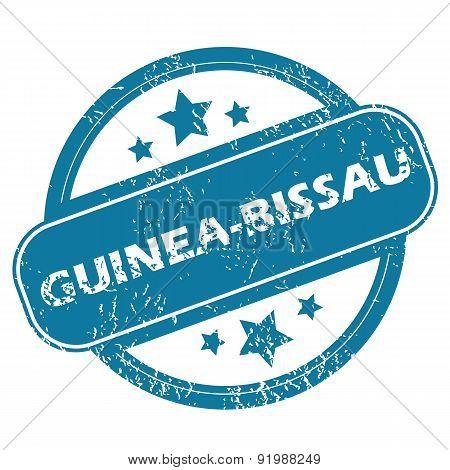 GUINEA-BISSAU round stamp