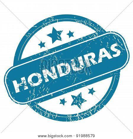 HONDURAS round stamp