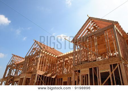 House Wooden Frame