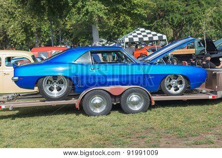 Chevrolet Camaro Car On Display