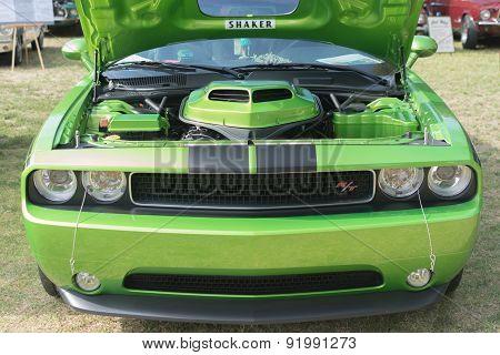 Dodge Challenger Rt Car On Display