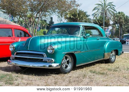Chevrolet Bel Air Car On Dlisplay
