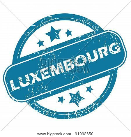LUXEMBOURG round stamp