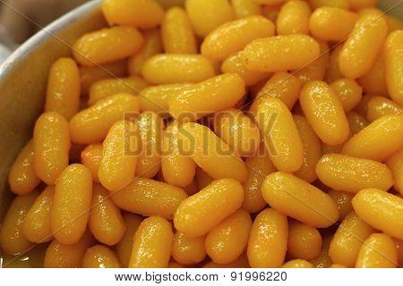 A Lot Of Gold Egg Yolks Drops