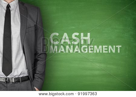 Cash management on blackboard