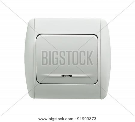 Electrical White Rocker Light Switch