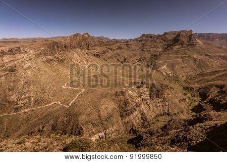 Stunning Gran Canaria landscape
