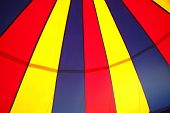 stock photo of circus tent  - circus tent pattern on a cloth texture - JPG