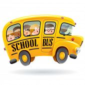 picture of bus driver  - School bus - JPG