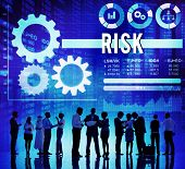 picture of dangerous  - Risk Risk Management Dangerous Safety Security Concept - JPG