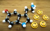 pic of antidepressant  - Serotonin is known as happiness hormone  - JPG