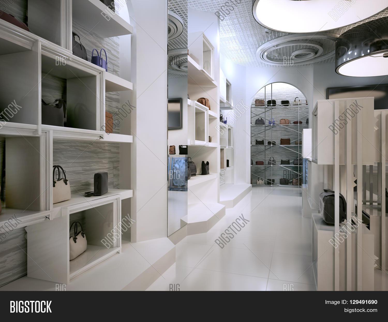 Art Deco Interior Shop Luxury Store Interior Design Art Image Photo Bigstock