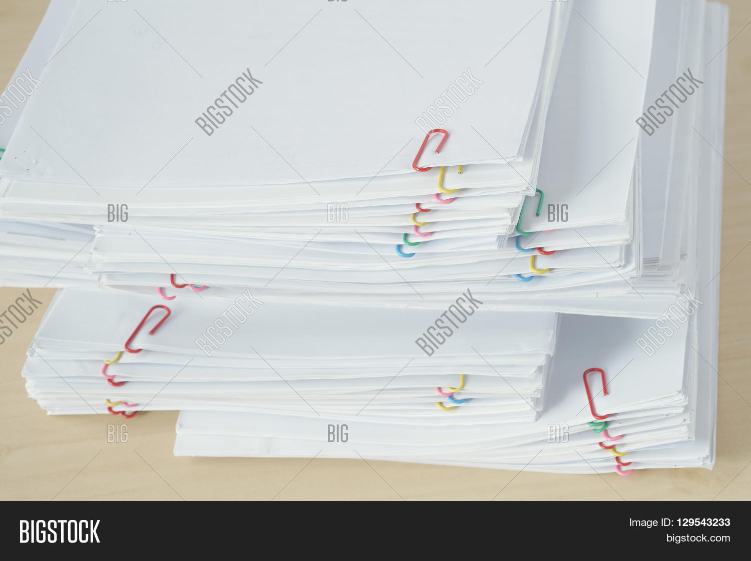 Pile Of Reports : Pile workload paperwork reports image photo bigstock