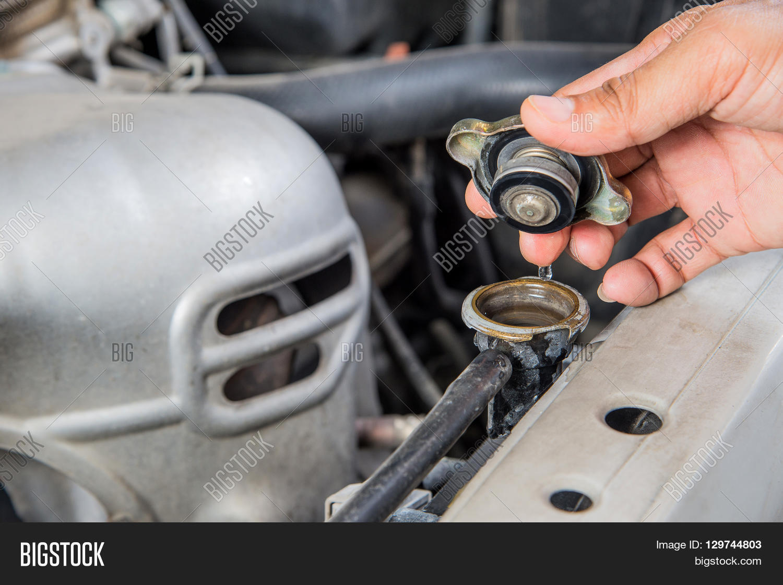 Check Car Radiator Car Maintenance Image Photo Bigstock