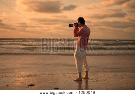 Photographing Sunset