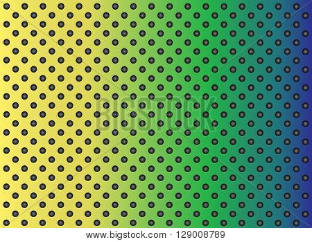 High resolution concept conceptual colorful gray metal stainless steel aluminum perforated pattern texture mesh background