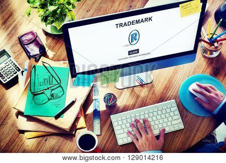 Trademark Logo Brand Name Copyright Concept