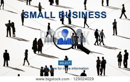 Small Business Company Entrepreneur Niche Concept