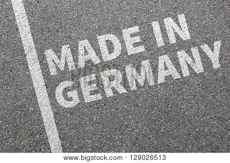 Made In Germany Product Quality Marketing Company