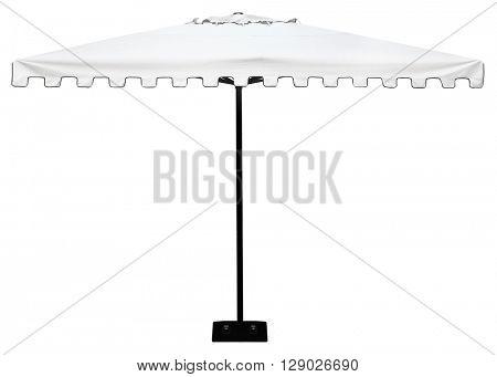 Parasol or umbrella isolated on white background