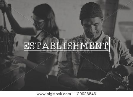 Establishment Expertise Recruitment Goals Hiring Job Concept