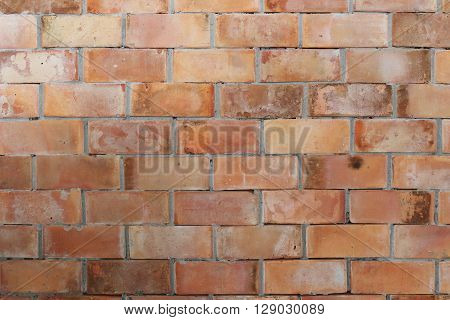 Texture brick wall is weathered and have corrosive for the background design.