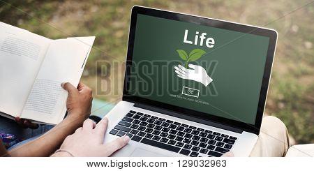 Life Ecosystem Conserve Environment Concept