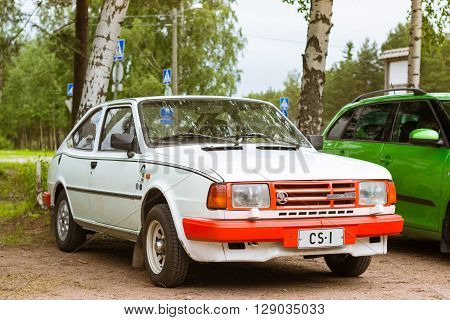 Skoda Felicia Coupe Car, Retro-club Of Czech Automaker