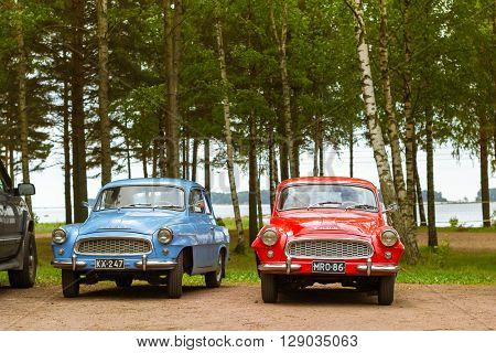 Skoda Felicia Coupe Cars, Retro-club Of Czech Automaker