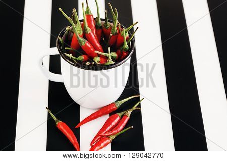 Heap Of Red Chili Pepper