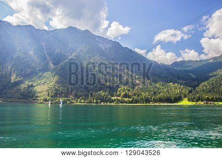 Beautiful Lake Of  Achensee