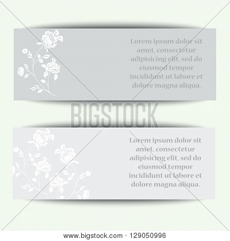 Label with Happy Birthday on wooden turquiose Background with white Flowers