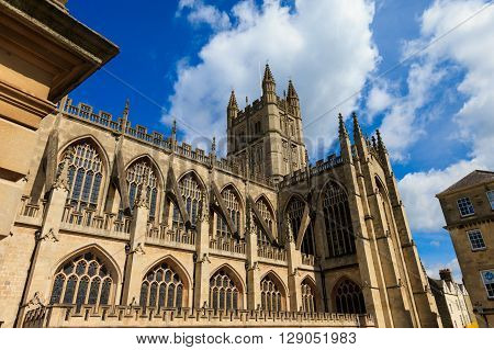 Architecture Of Bath Abbey England