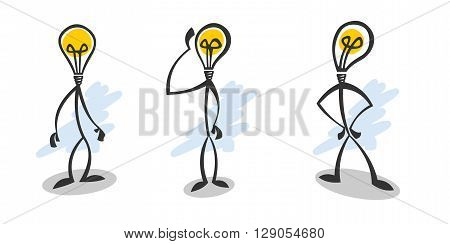 Stick lamp guy. The original mascot, a symbol of power, ideology, creativity and innovation.