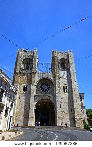 Se De Lisboa Cathedral, Lisbon, Portugal