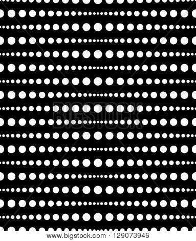Dotted, Dots Pattern, Background. Seamlessly Repeatable Both Sides.