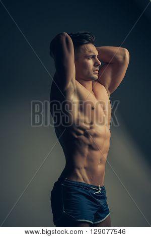 Muscular Sexy Man Near Window