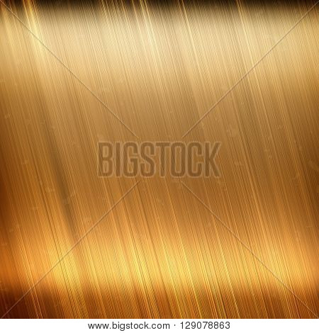 Metal texture. Golden Metal plate. Gold texture. Metal background