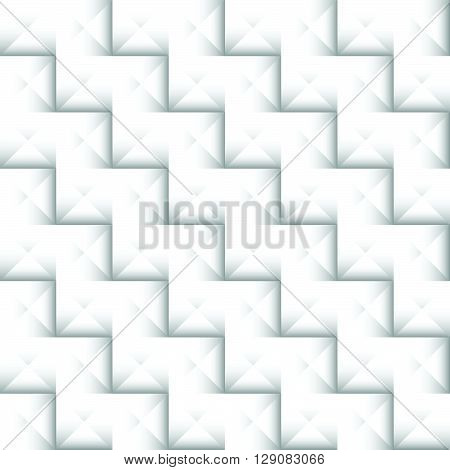 Abstract Geometric 3D Studded Background. Mosaic Of Pyramidal Tiles.