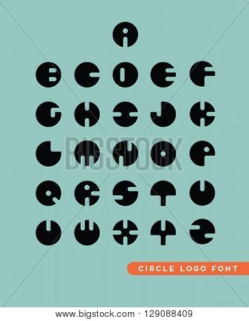 abstract circular letter logos for assisting you in creating modern sleek branding concepts and packages.
