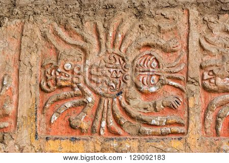 Spider Mural In Peru