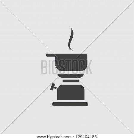 Kerosene lamp icon illustration isolated vector sign symbol