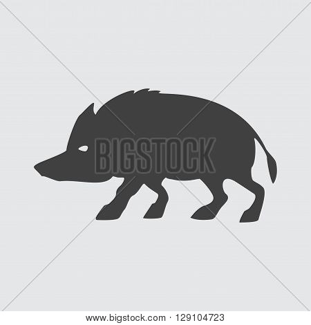 Boar icon illustration isolated vector sign symbol