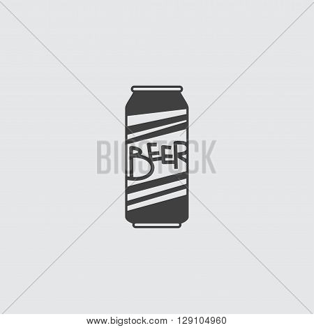 Beer can icon illustration isolated vector sign symbol