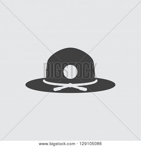 Hat icon illustration isolated vector sign symbol