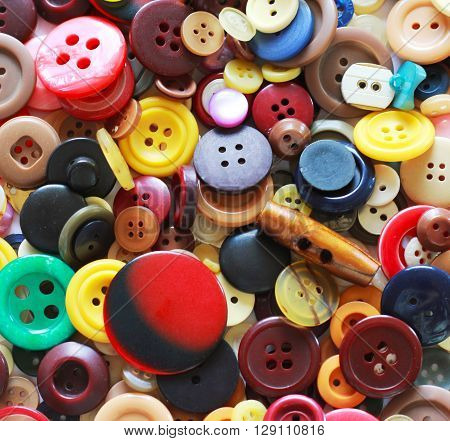 Buttons background - high resolution image of colorful buttons